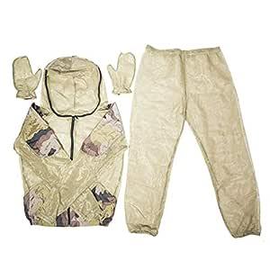 Sososhoot - Traje antimosquitos de Secado rápido para Pesca, Caza ...
