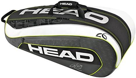 026b7000b4 Head Djokovic 9R Supercombi Borsa per Racchette da Tennis: Amazon.it ...