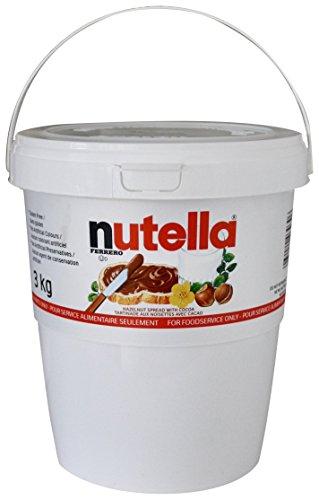 FERRERO NUTELLA Nutella Pail Tub, 3 Kilogram