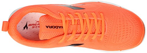Diadora Nj-303 Trama - Entrenamiento y correr Unisex adulto Multicolore (C1422 Arancio/Bianco)
