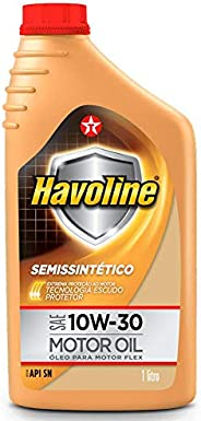 Oleo De Motor 10w30 Havoline Semi Sintético Api Sn 1Lt