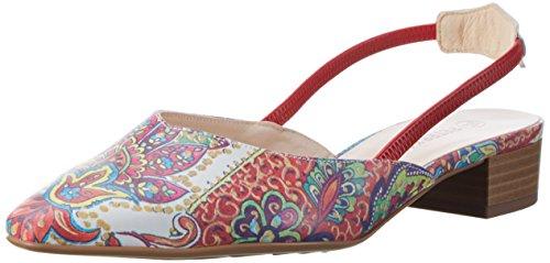 Peter Kaiser 22777, Zapatos de Tacón Mujer Multicolor (multi Paisli Rot Gummizug 976)