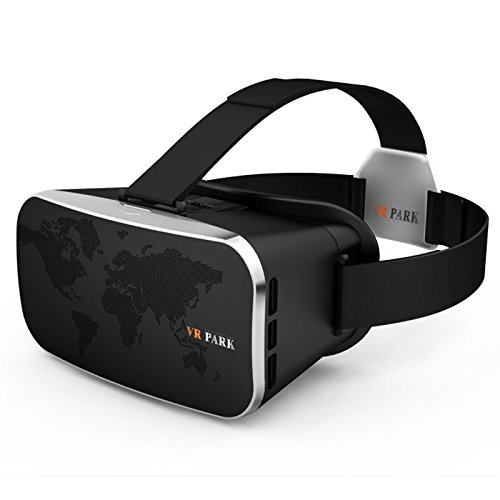 UVAPOR 2016 VR PARK-II Resist Blu-ray Vitual Reality Headset 3D Glasses World Map VR BOX+VR Bluetooth Gamepad for iPhone Samsung HTC Asus Huawei Lenovo Xiaomi Oneplus Elephone Doogee