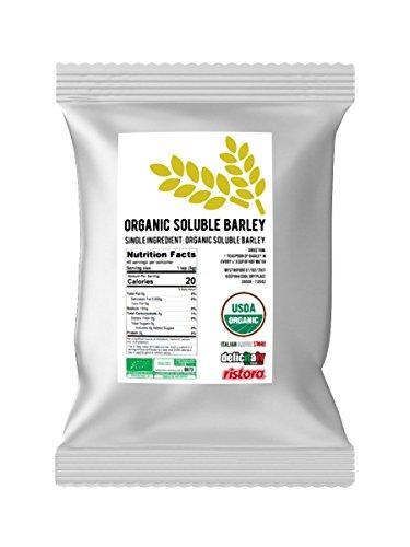 Orzo Buono: Organic Barley Coffee Substitute [ Italian Import ] (Soluble Barley, 200g/7.05 Oz)