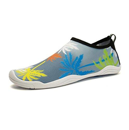 de gray Zapatillas Flip gran Creek Flop Zapatillas Wading YWNC tamaño Buceo Snorkel Playa Natación Yoga Zapatos Transpirable XaO60x