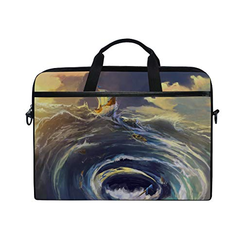 - Laptop Computer Bag Sleeves 15 15.4 Inch Ship was in The Whirlpool Maelstrom Laptop Sleeve Notebook Computer Pocket Case Tablet Briefcase Carrying Bag Laptop Shoulder Bag