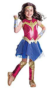 Rubies Costume Batman Vs Superman: Dawn of Justice Deluxe Wonder Woman Costume, Large