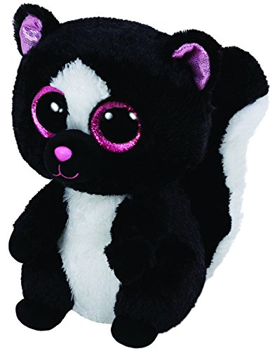 Amazon.com  Ty Beanie Boos Flora Black White Skunk Plush  Toys   Games 2c4398827816
