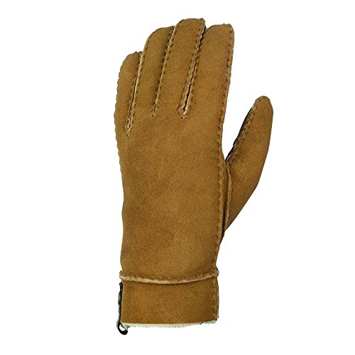 UGG Australia Women's Sheepskin Tenney Glove (Chestnut,S) by UGG