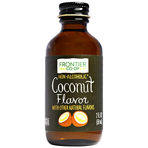 Frontier Natural Products, Coconut Flavor, Non-Alcoholic, 2 fl oz (59 ml) - 2PC