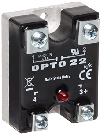 opto 22 575di45 12 dc control solid state relay with led. Black Bedroom Furniture Sets. Home Design Ideas