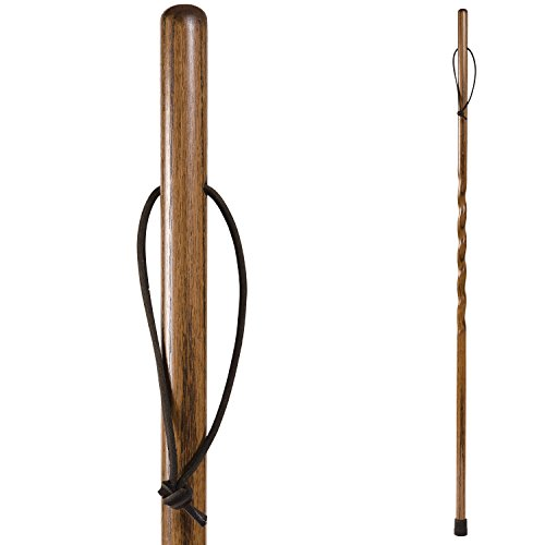 Brazos Twisted Trekker Walking Stick