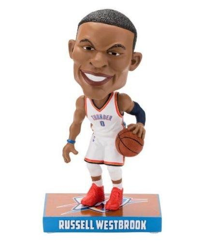 FOCO Oklahoma City Thunder Westbrook R. #0 Caricature Bobble by FOCO