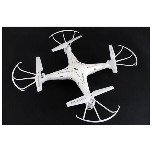 Syma X5 4 Channel 2.4GHz RC Explorers Quad Copter With (Extra: 1X 2 MP Camera,1 x Battery, 1 x USB charger, 1 x 4G Micro SD Card, 4 x propellers, 1X SD Card Reader)