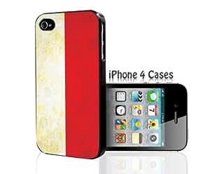 Indonesia Flag iPhone 4/4s case