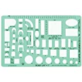 Timely Template 132T Furniture Template – 1/4 Inch, Office Central