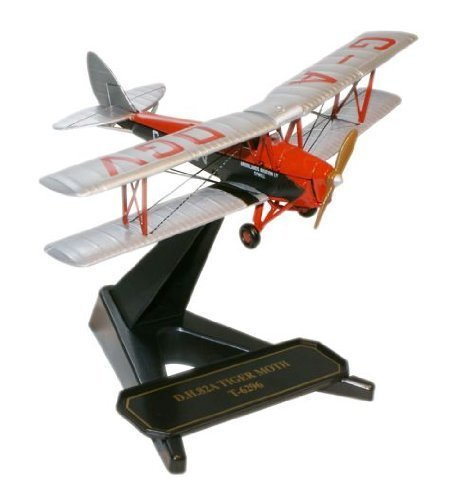 Oxford Diecast DH Tiger Moth Brooklands Aviation by Oxford Diecast