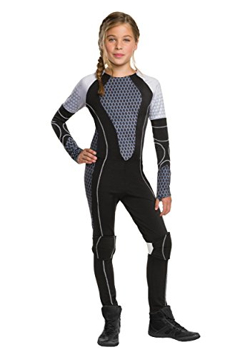 Rubie's CostumeThe Games Catching Fire The Hunger Games Katniss Costume, Medium, One (Katniss Everdeen Costume Dress)