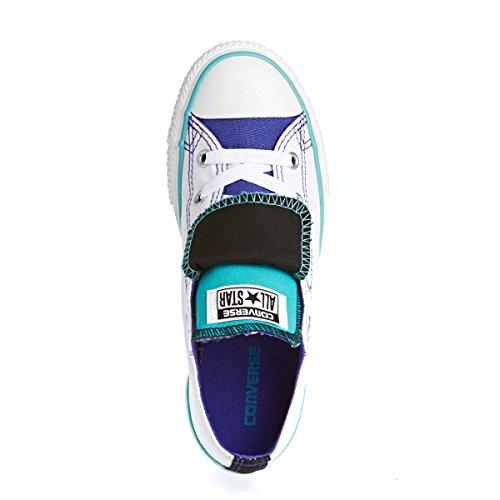 Converse 647661 - Zapatillas de tela para niño Weiß