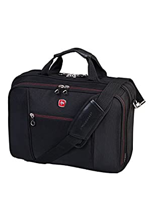 "Swiss Gear Ballistic Top-Loading 15.6"" Laptop Case (SWA0907) by Swiss Gear"