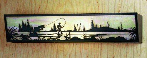 Fly Fisherman Vanity Light - Meyda Lighting 51687 31