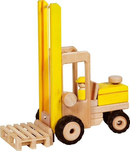 Goki 55938 - Gabelstapler Spielzeug