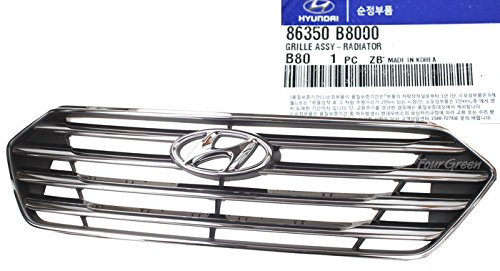 86350B8000 OEM Genuine Radiator Grill For Hyundai SANTA FE GRAND 2013-2015 NEW OEM