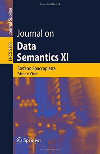 (Journal on Data Semantics XI (Lecture Notes in Computer)