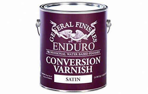 General Finishes GF-CV-S-1 1 Gallon Interior Water Base Conversion Varnish