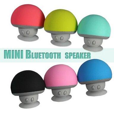 Altavoz inalámbrico PANMARI Mini Bluetooth Portátil Pequeña seta Caja de sonido para MP3 Teléfono PC Ordenador Altavoz Bluetooth Caixa De Som, ...