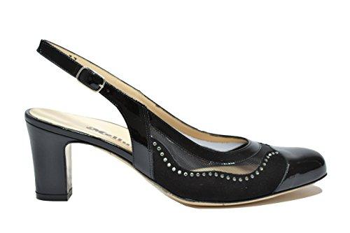 Melluso Donna Decolte' X571 Nero Scarpe Elegante SwSAqn0xHr