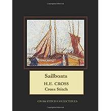Sailboats: H.E. Cross Cross Stitch Pattern