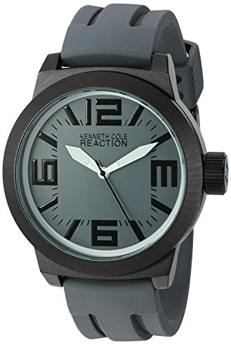 Kenneth Cole Reaction Men's RK1233 Triple Gray White Details Watch