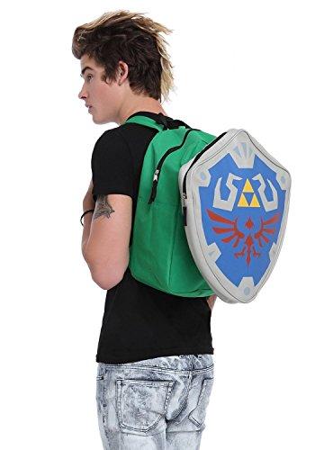 Legend Zelda Backpack Removable Shield