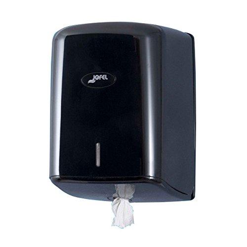 Jofel AG47600 Dispensador de Papel Mecha Smart (Box), Negro