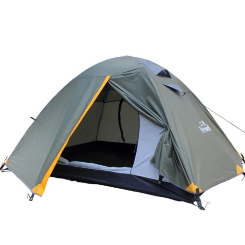 NEW Travelling Outdoor 2-Person Capacity Hewolf Collection 1605 Tent