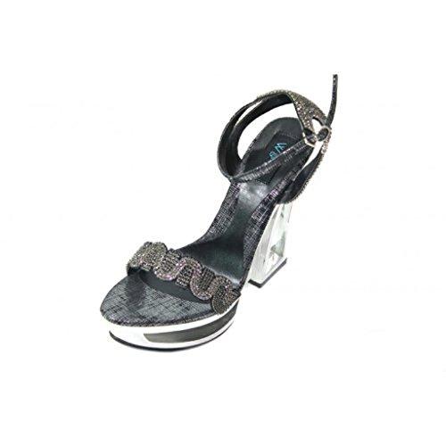 Wear & Walk UK , Sandales pour femme Noir - noir