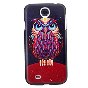 Honorable Owl Pattern Durable Hard Case for Samsung Galaxy S4 I9500