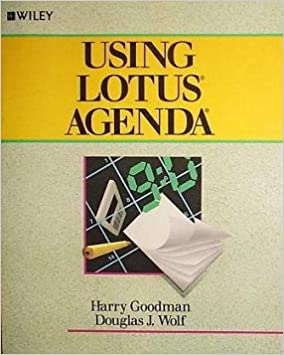 Amazon.com: Using Lotus Agenda (9780471615941): Harry ...