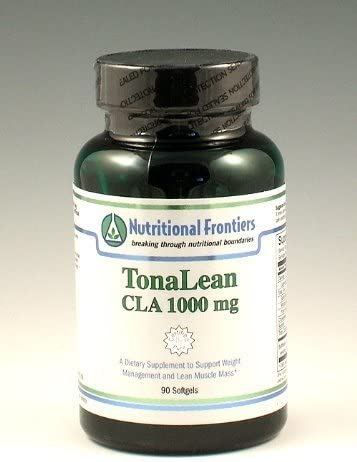 Nutritional Frontiers – TonaLean CLA 1000mg – 90 softgels