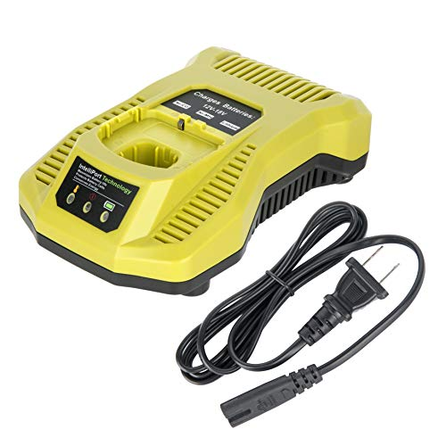 Cell9102 Replacement P117 One+ 18 Volt Dual Chemistry IntelliPort Lithium Ion and NiCad Battery Charger for Ryobi 12-18Volt P100 P102 P103 P105 P107 P108 P200 1400670 Ryobi One Plus Battery