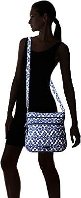 Vera Bradley Triple Zip Hipster Cross Body Bag