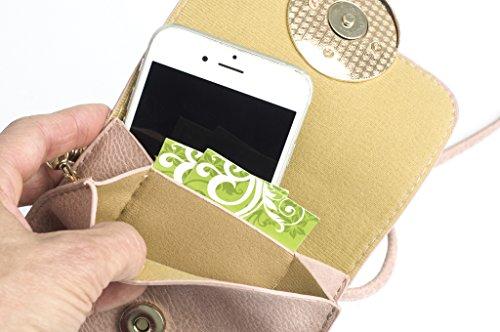 Smartphone Multi Crossbody Purse Pink pocket qYvwUxAw