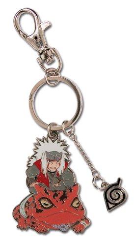 Chibi Naruto Shippuden Jiraiya metal llavero: Amazon.es ...