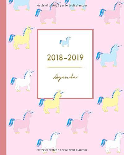 Agenda 2018-2019: Agenda Scolaire, Août 2018 à Juillet 2019 ...