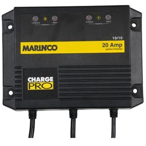 MARINCO ON BOARD BATTERY CHARGER 20A 2 BANK boating equipment Battery Charger 20a 2 Banks
