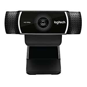 Logitech 1080p Pro Stream Webcam for HD Video Streaming and Recording at 1080p 30FPS