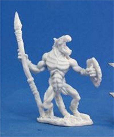 Grim Reaper miniature 77,050 Bones - Lizardman Soldier