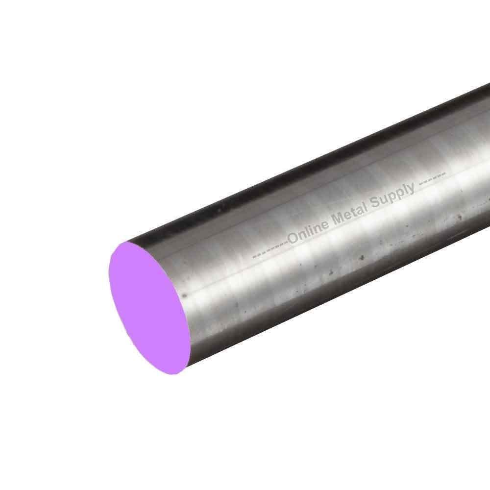 Online Metal Supply 4340 CF Alloy Steel Round Rod, 2.500 (2-1/2 inch) x 24 inches by Online Metal Supply