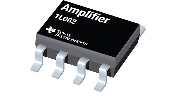 IC, OP AMP, JFET, PDIP8 TL062ACP por TEXAS INSTRUMENTS ...